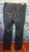 Chicos Platinum womens jeans size 1.5 10 slim bejeweled