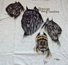 """Bouvier des Flandres T-shirt """" Ash """" Sm ( 34 - 36 )"""