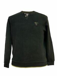 XXL Sweat-Shirt von Monte Carlo, schwarz