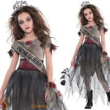 filles Zombie BAL Reine ados Prom Déguisement Enfant halloween costume