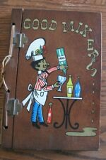 Vtg 1967 Wood Covers Bartender Guide Good Mixers Cocktails Recipes 200 recipes