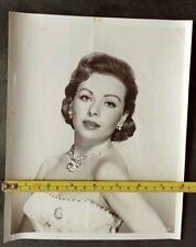 Vintage Beauty Original Photograph of Jeanne Crain 8x10
