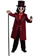 Kinderkostüm wie Willy Wonka, Charlie & die Schokoladenfabrik Größe104