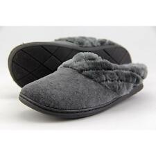 Flat (0 to 1/2 in.) Medium (B, M) Synthetic Slippers for Women