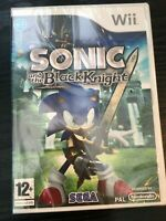 Wii & Wii U - Sonic and the Black Knight **New & Sealed** Official UK Stock