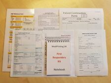 First Responders Kit (including all paperwork and document clipboard storage)