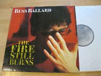 LP Russ Ballard The Fire Still Burns Vinyl EMI America 064 24 0367 1