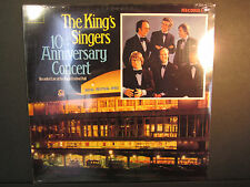 The King's Singers 10th Anniversary Concert, MMG 1101,Classical Vocal, sealed LP