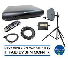 Caravan HD Satellite System,Box,Tripod Dish and Satfinder