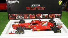 F1  FERRARI F2012 ALONSO MALAYSIAN 1/18 HOT WHEELS ELITE X5484 voiture formule 1