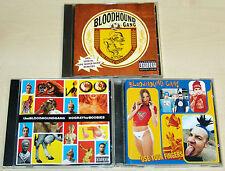 3 CD SET BLOODHOUND GANG - ONE FIERCE BEER COASTER HOORAY FOR BOOBIES FINGERS