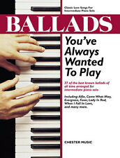 Ballads Learn to Play Love Songs Pop Piano Solo Sheet Music Book