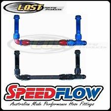 "Speedflow 7/8""-20 Holley Dual Feed Carburettor 8AN Dual Fuel Feed Kit 160-08-A"