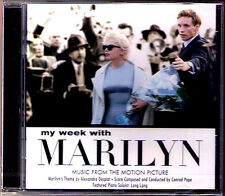 MY WEEK WITH MARILYN Conrad Pope Alexandre Desplat LANG LANG Michelle Williams