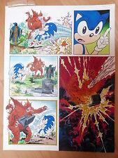 Pagina Original a color de Sonic de Sega,dibujado por Jose Casanovas (2)