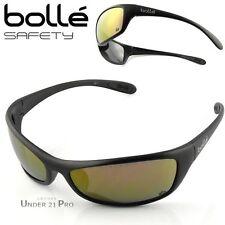 Lunettes de protection soleil sport homme Jaune/Miroité SPIFLASH Bollé Safety
