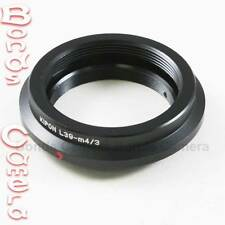 Kipon Leica M39 L39 lens to Olympus Panasonic Micro 4/3 mount Adapter E-P3 G3