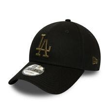 NEW ERA LA DODGERS BASEBALL CAP.NEW 9FORTY MLB COTTON BLACK ESSENTIAL HAT S20 95
