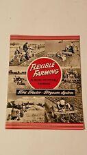 ORIGINAL SALES BROUCHER Flexable Farming Ford Tractor Ferguson System