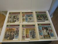 1991 Lot of 34 The Hockey News NHL Issues Pittsburgh Stanley Cup Lemieux Hull