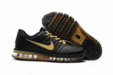 HOT New Nike AIR MAX+ 2017 Men's Running Shoes- Yellow and Black  Size 9.5