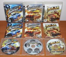 Juiced 2,Stuntman Ignition,Baja Edge of Control,THQ,PlayStation 3 PS3,Ver. Esp.