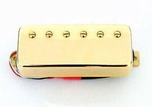Artec Mini Humbucker Les Paul Bridge Pickup Gold