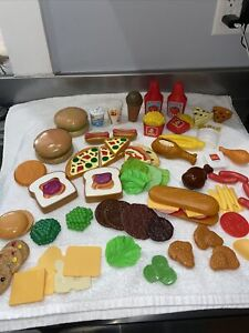Vintage Lot Of Fisher Price,McDonalds...Play Food
