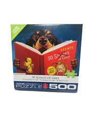 50 Scents of Grey Parody 500 Piece Eurographics Dog Puzzle New 50 Shades Funny