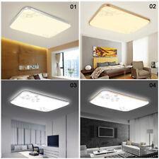 LED Cuadrado Techo Luz Baja Dormitorio Cuarto De Estar Lámpara Accesorios