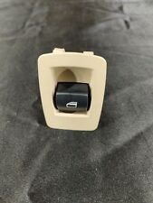 Right or Left Side Rear Door Window Switch Lifter Button OEM BMW E90 E70 E71 Tan