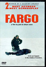 FARGO - DVD - THRILLER BY JOEL & ETHAN COEN - FRANCES McDORMAND - NEW - O O P