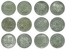 Netherlands - Lot 10 & 25 Cent 1941, 1942, 1943