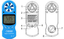 Horizon Digital Anemometer Educational Science Kit