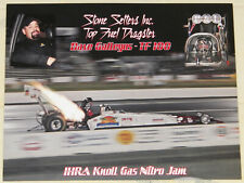 """VINTAGE IHRA ISSUE """"DAVE GALLEGOS"""" TOP FUEL DRAGSTER DRAG RACING HANDOUT!!!!"""
