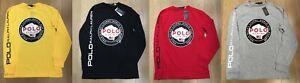 Polo Ralph Lauren POLO ALPINE USA FLAG Mens Longsleeve Shirt LIMITED EDITION