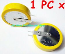1 pc x 3.6V Tabbed LIR2477 Rechargeable Button Battery Can Replace CR2477 2Tabs