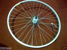 M:WHEEL 26 inch Q / R ATB rear wheel screw on Silver