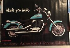 1994 honda dealers poster ( made you look) LARGE AND RARE