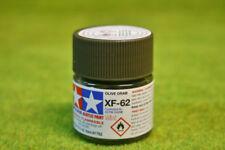 Tamiya Color OLIVE DRAB Acrylic Mini Paint XF62 10mls