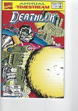 Deathlok  Annual # 1  NM 9.4
