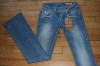 KAPORAL 5  Jeans pour Femme W 24 - L 34 Taille Fr 34 NEUF FLAIR (Réf #J064)