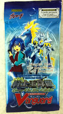 Cardfight Vanguard Descent of the King of Knights Booster Pack ENGLISH  5-cd/pk