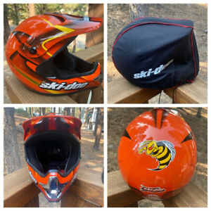 Ski-Doo X-TEAM Hornet Helmet Team Gear Snowmobiling Motocross MX Bombardier dot
