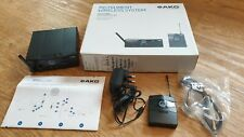 More details for akg wms40 mini - instrument (guitar/bass) wireless system ism3
