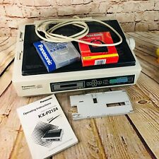Vtg Panasonic Quiet KX-P2124 24-Pin Dot Matrix Printer manual ribbon cord works