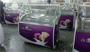 "Hot Sale 1 PC 220V 48""Freezer Ice Cream Display Case Showcase IceSucker New"