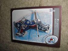 2002-03  Topps #1 Patrick Roy Colorado Avalanche Goalie  NrMt