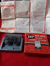 HIP Quik Splice Super 8mm  Automatic Butt Splicer and instructions