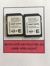 Nissan CONNECT1 Mappa Dati SD Card 2010